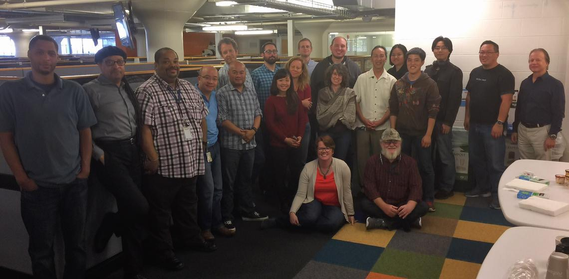 Project Team group photo